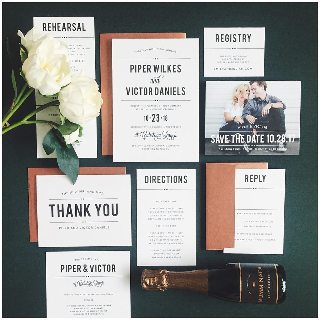 Save The Date Wedding Invitations For Brides