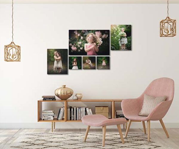 Canvas Wall Cluster for Home Decor